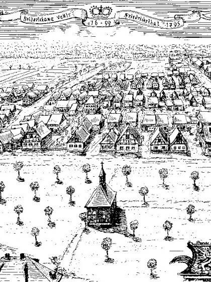 Friedrichstal um 1795