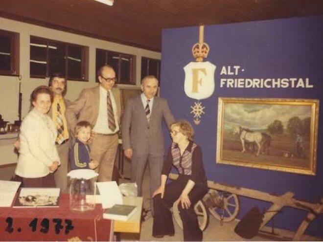 Verein Alt-Friedrichsthal: Ausstellung 1977