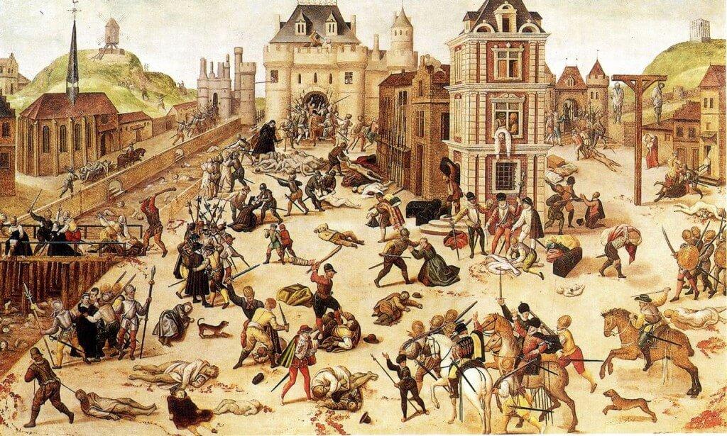 "Hugenotten und Friedrichstal - Francois Dubois ""Bartholomäusnacht"""