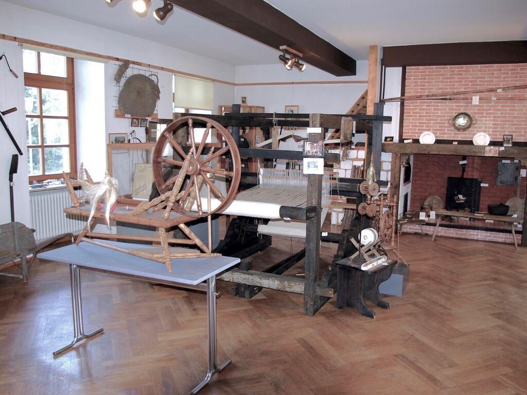 Verein Alt-Friedrichsthal: Historischer Webstuhl