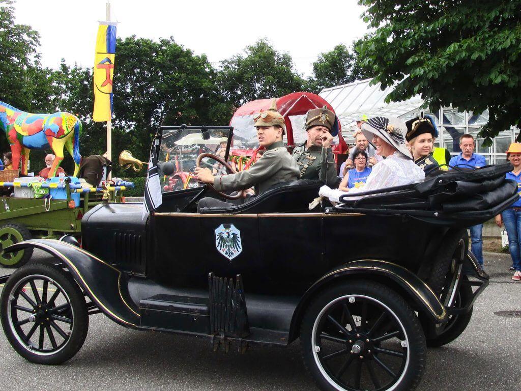 1250-Jahr-Feier Eggenstein: Ford T-Modell von 1920